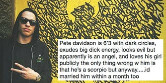 pete davidson big dick energy