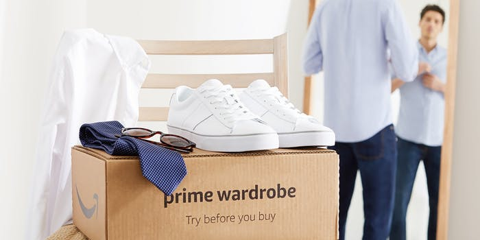 Amazon Prime Wardrobe box