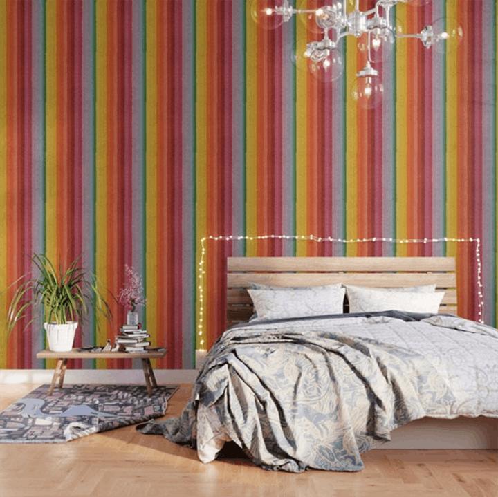 self-adhesive wallpaper