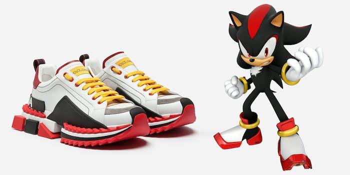 shadow the hedgehog sneakers