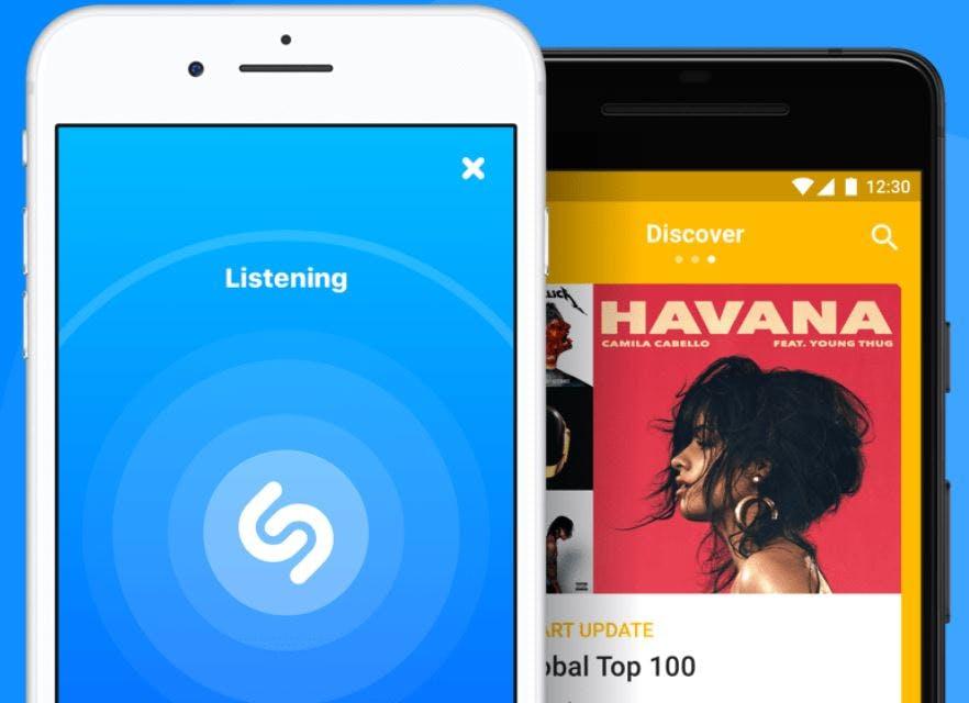 song identifier app - shazam
