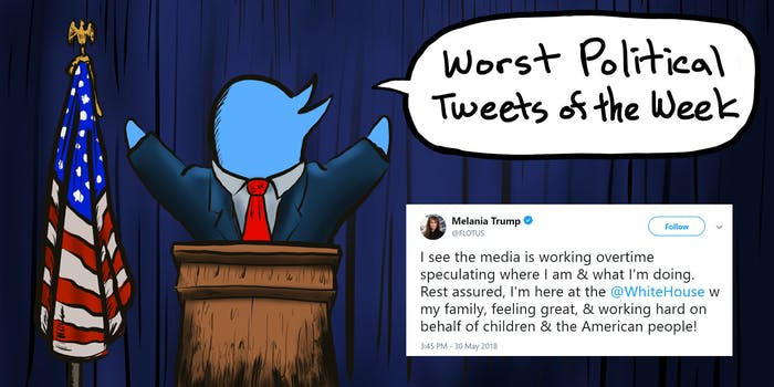worst political tweets of the week melania trump