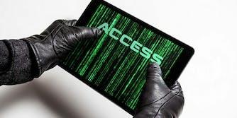 Burglar wants WiFi password