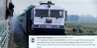 India train trafficking