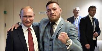 Conor McGregor Putin