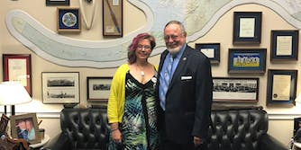 Jennie Stewart, a consituient of Rep. Don Young (R-Alaska), says he gave her a 'verbal commitment' to sign the net neutrality CRA, before going dark.
