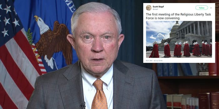 Jeff Sessions Religious Liberty Task Force