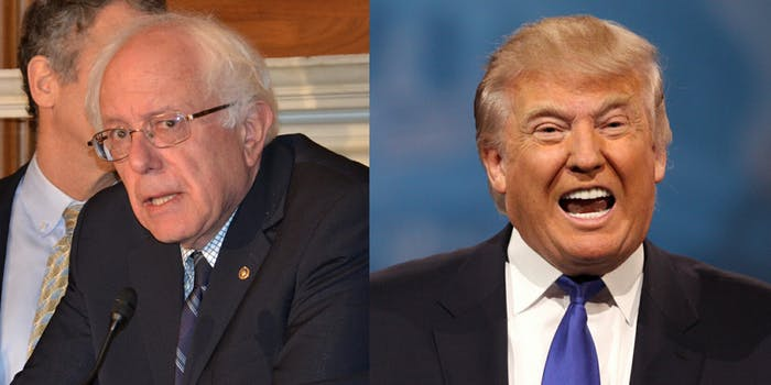 Sen. Bernie Sanders and President Donald Trump both had something to say about the Koch brothers–the Republican megadonors–this week.
