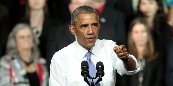 Former President Barack Obama delivered a blistering speech in South Africa on Tuesday, condemning the state of politics and hallmarks of President Donald Trump's time in office.