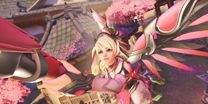 Overwatch Breast Cancer Mercy
