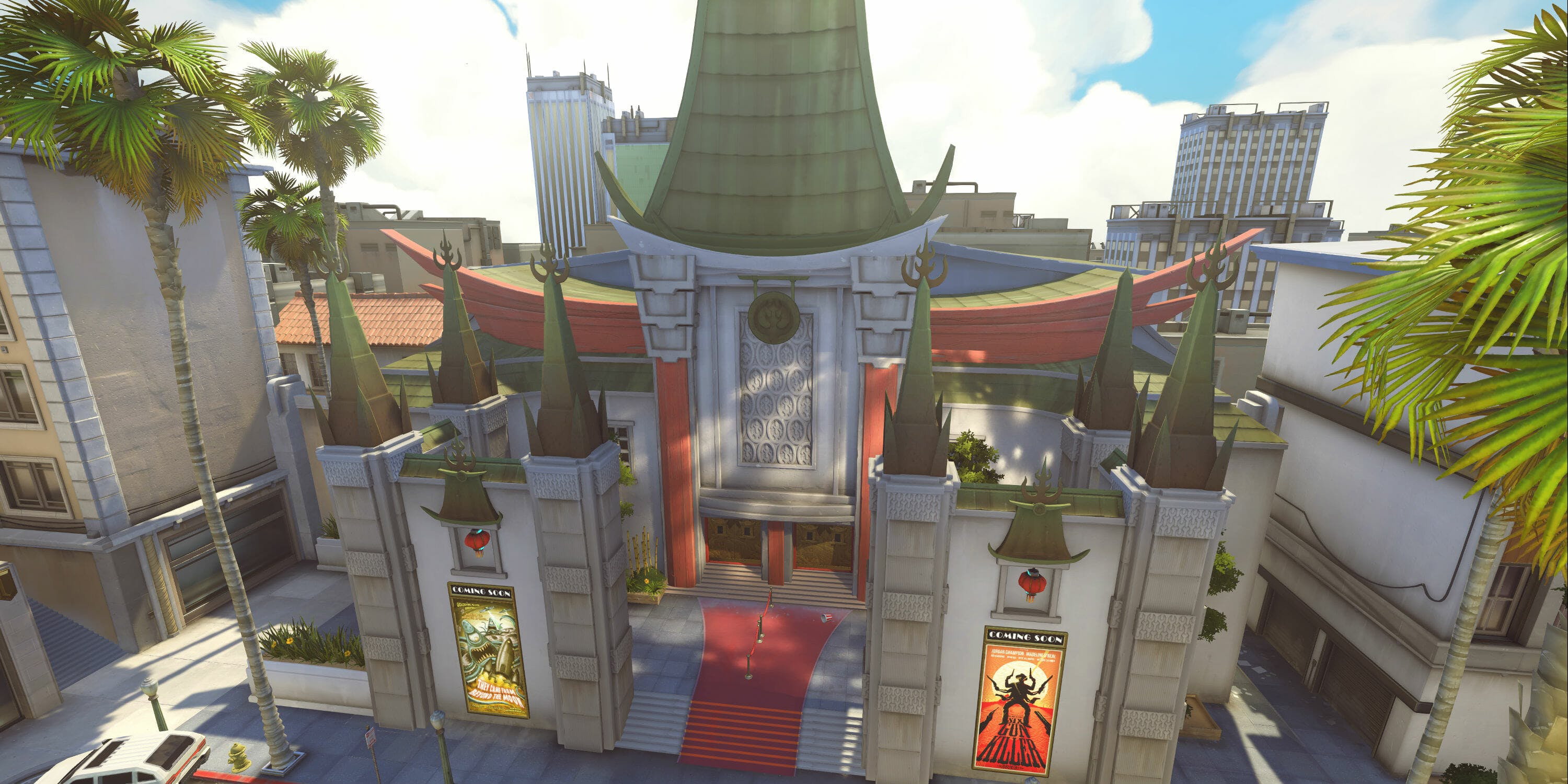 Overwatch Maps Hollywood