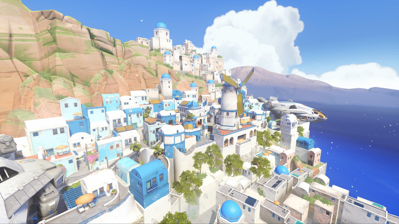 Overwatch Maps Ilios