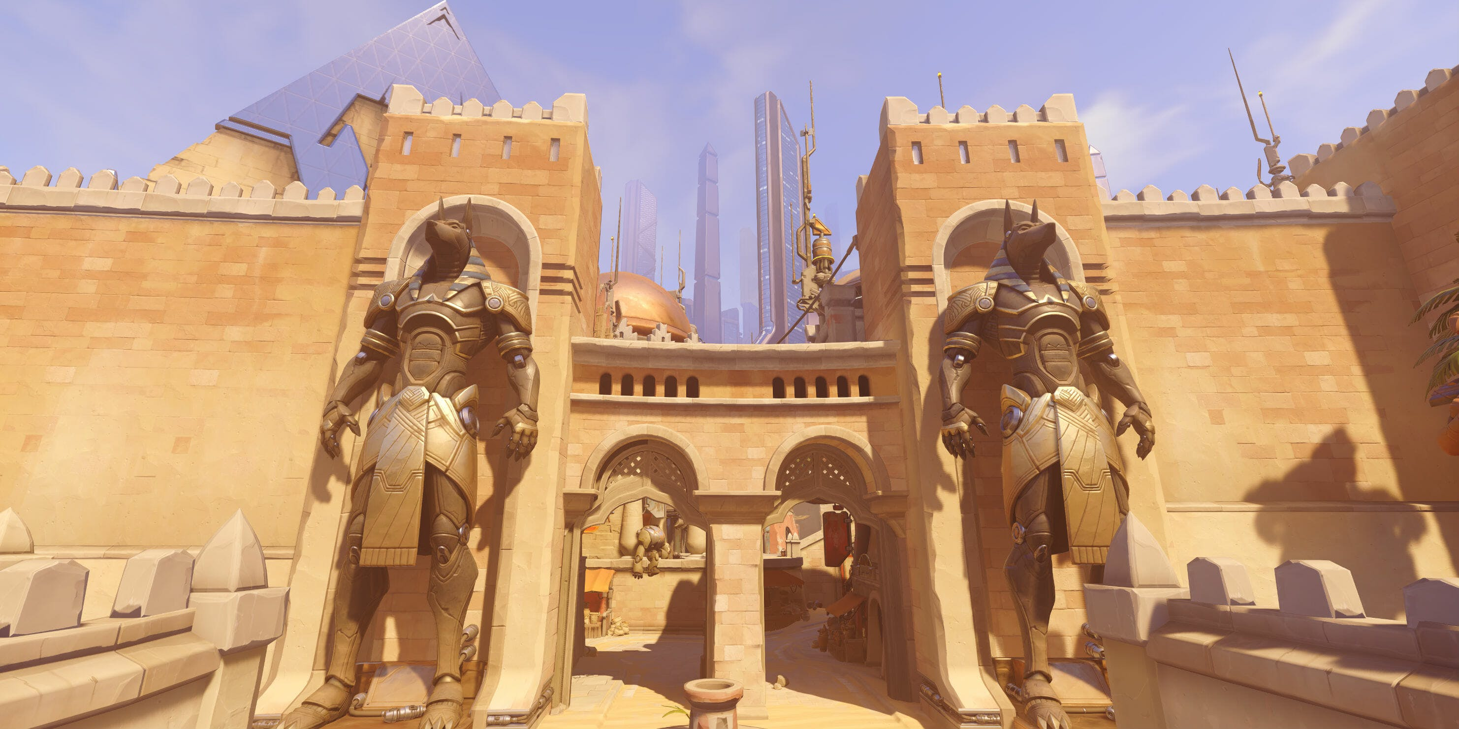 Overwatch Maps Temple of Anubis