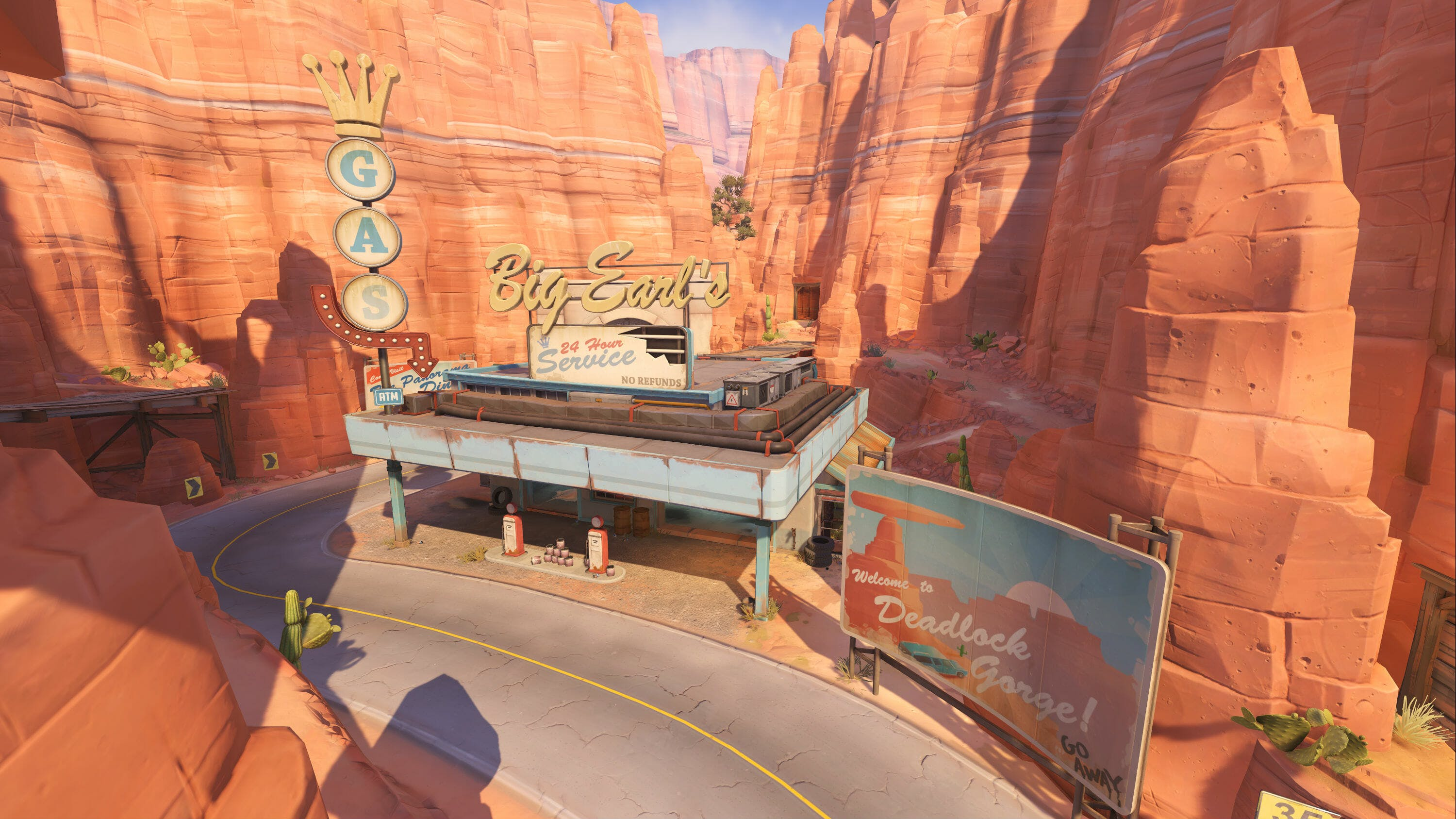 Overwatch Maps Route 66