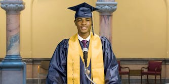 A high school school refused to let its first ever African American valedictorian speak during graduation, so the mayor's office posted it online.