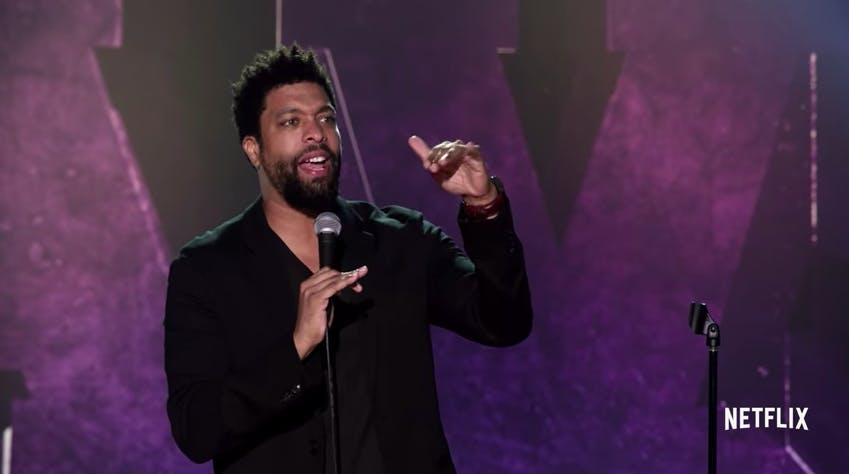 black comedy specials : deray davis