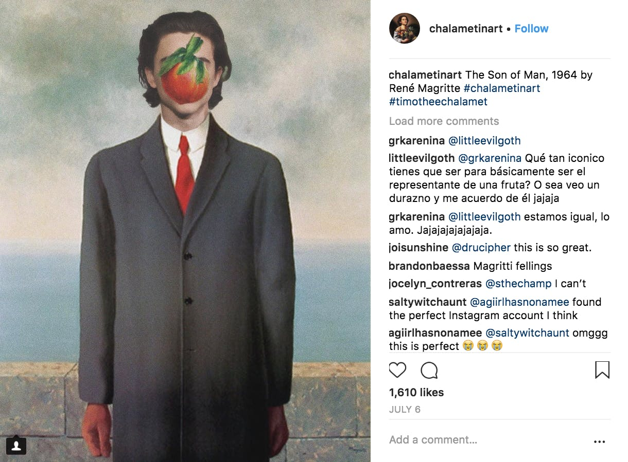 Timothee_Chalamet_Art_Instagram