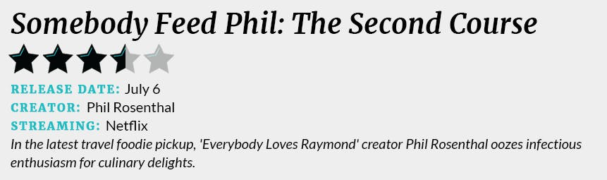 Somebody Feed Phil The Second Course review box