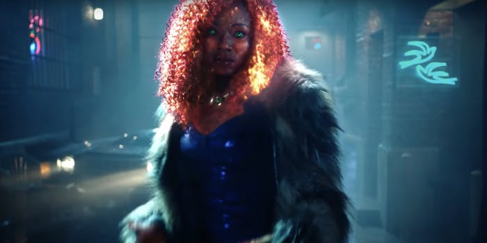 Fans rallied behind Anna Diop after she was harassed online for her upcoming role as Starfire, an orange alien, in the TV series Titans.