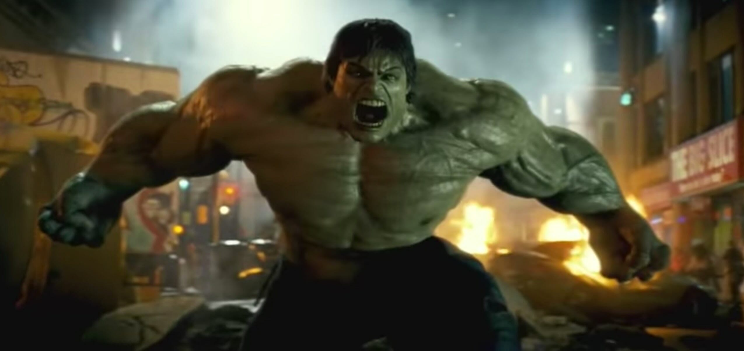 all mcu movies - incredible hulk
