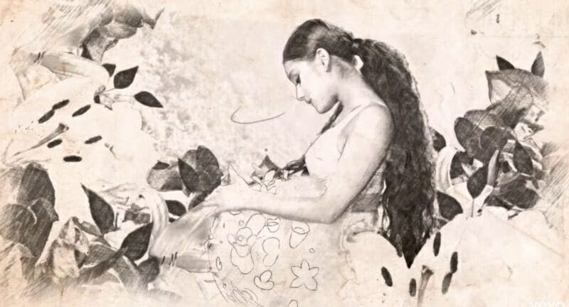 Ariana Grande pregnant God Is a Women video