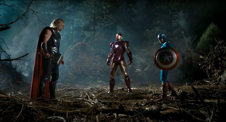 mcu movies order - avengers