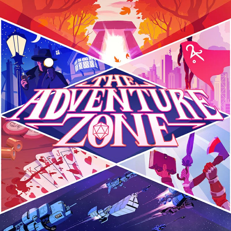best podcasts on spotify - adventure zone