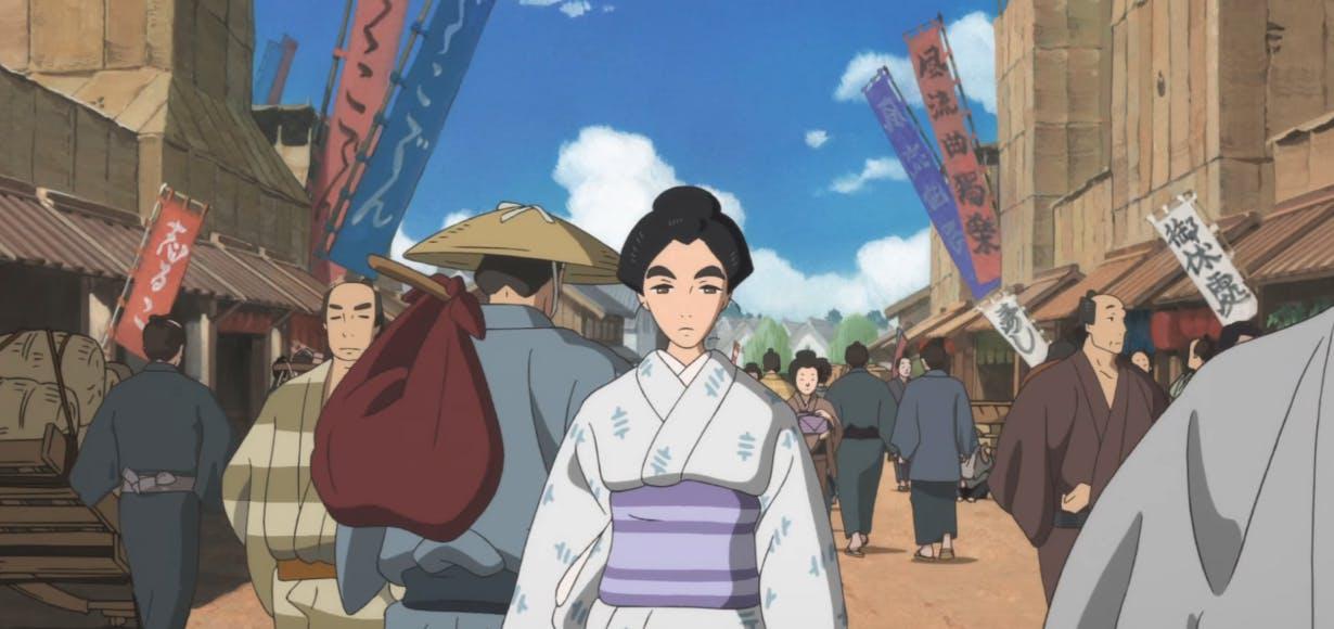 best japanese movies netflix - Miss Hokusai