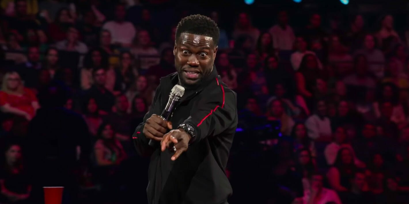 black comedy on netflix - kevin hart irresponsible
