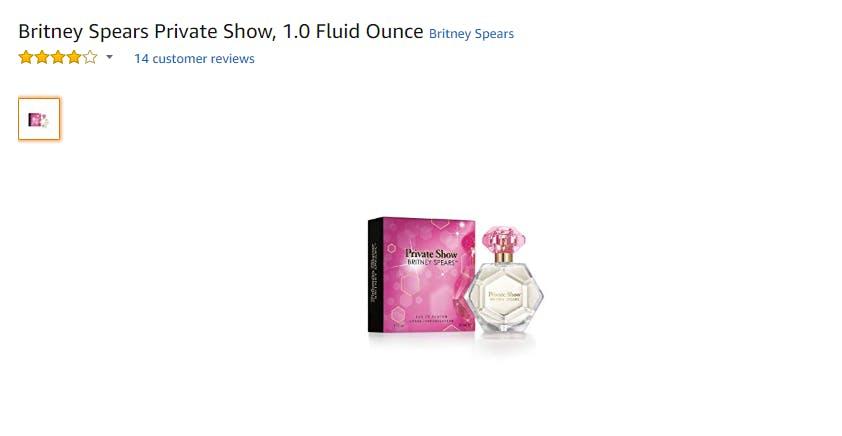 best britney spears perfumes