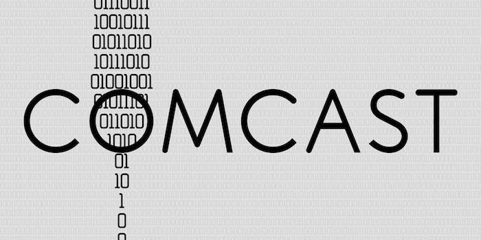 comcast throttling data