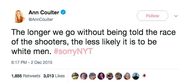 ann coulter twitter