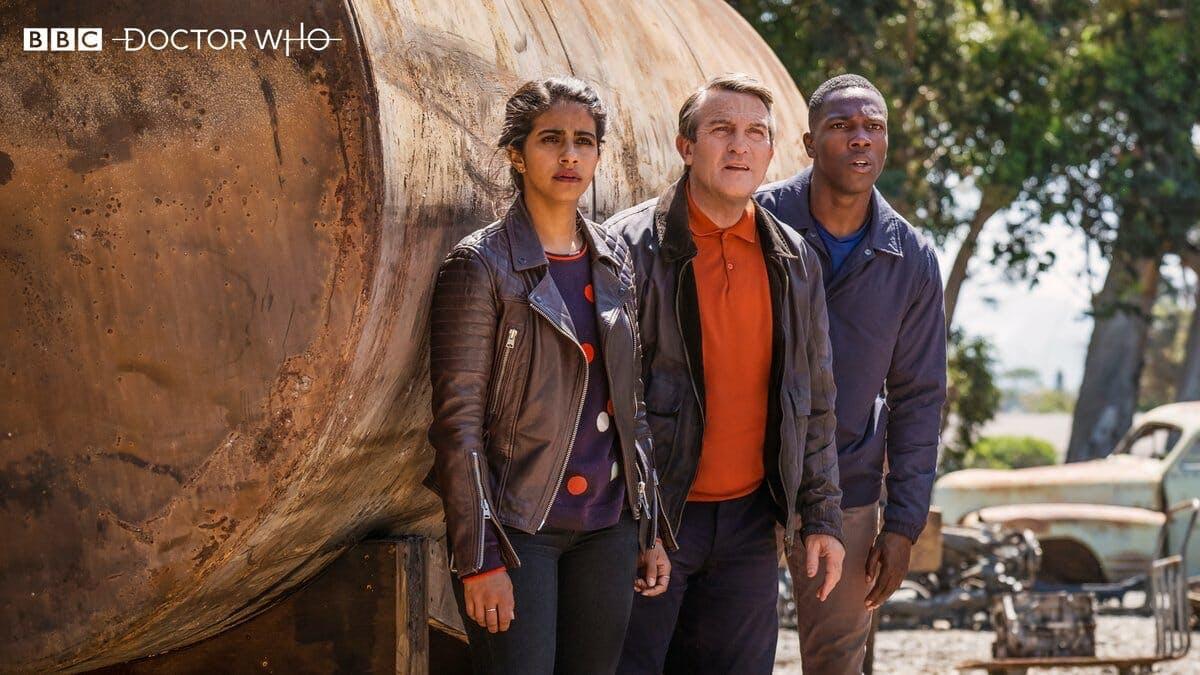 doctor who 2018 companions