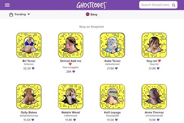Namen porno snapchat Dirty Snapchat