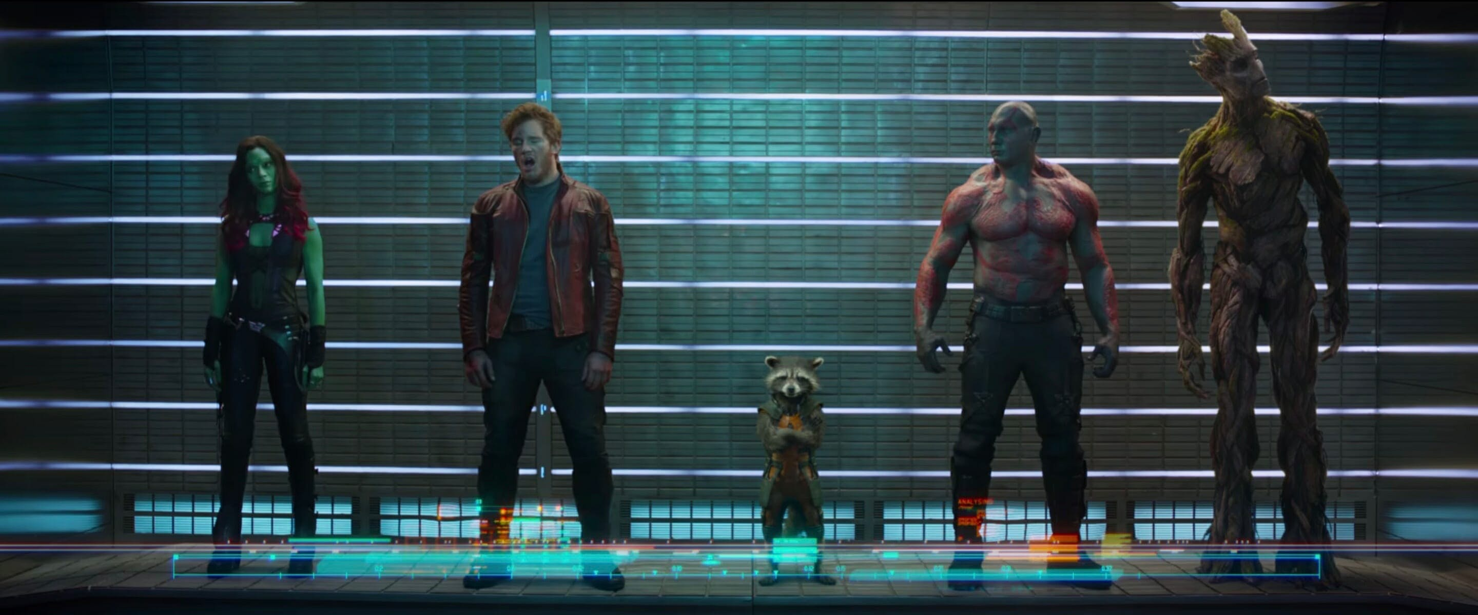 mcu phase 2 - guardians of the galaxy