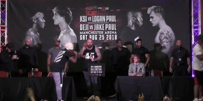 KSI Logan Paul press conference pay per view price
