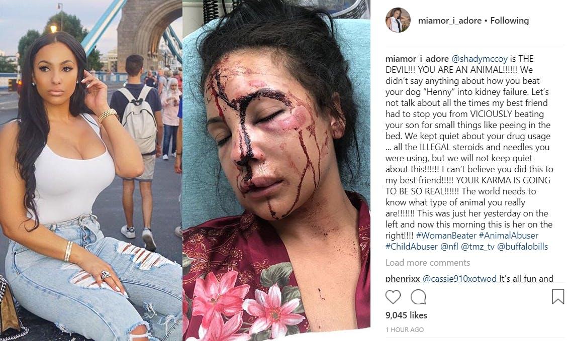 lesean mccoy domestic violence accustion
