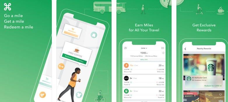 Miles App on iOS