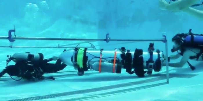 Musk submarine testing