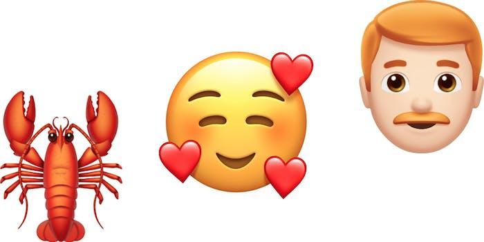 iOS Emoji for 2018