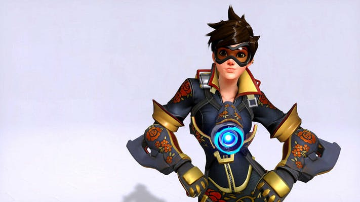 Image of a sexy superhero character from the list reddit overwatch porn