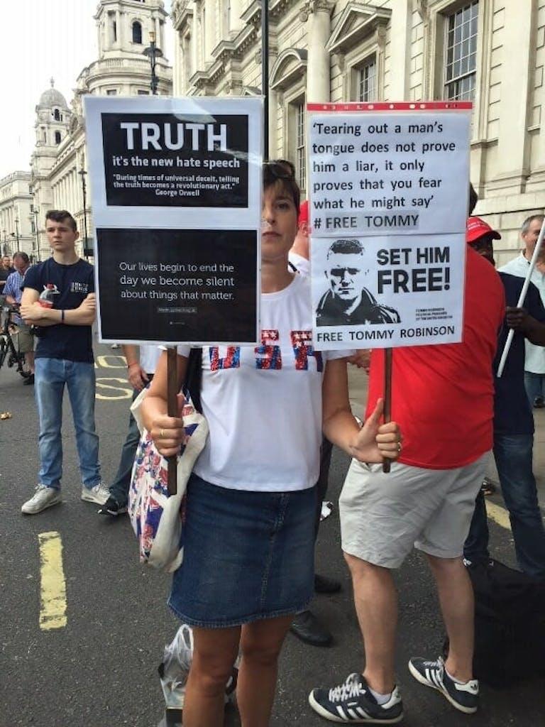 Donald Trump rally London