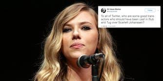 Scarlett Johansson has been cast as a transgender man in upcoming film 'Rub & Tug.'