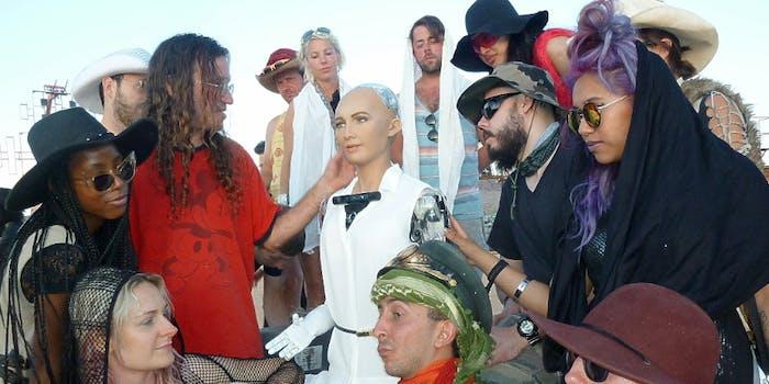 Sophia The Robot in Las Vegas
