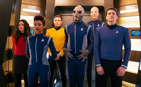 star trek discovery season 2 uniforms