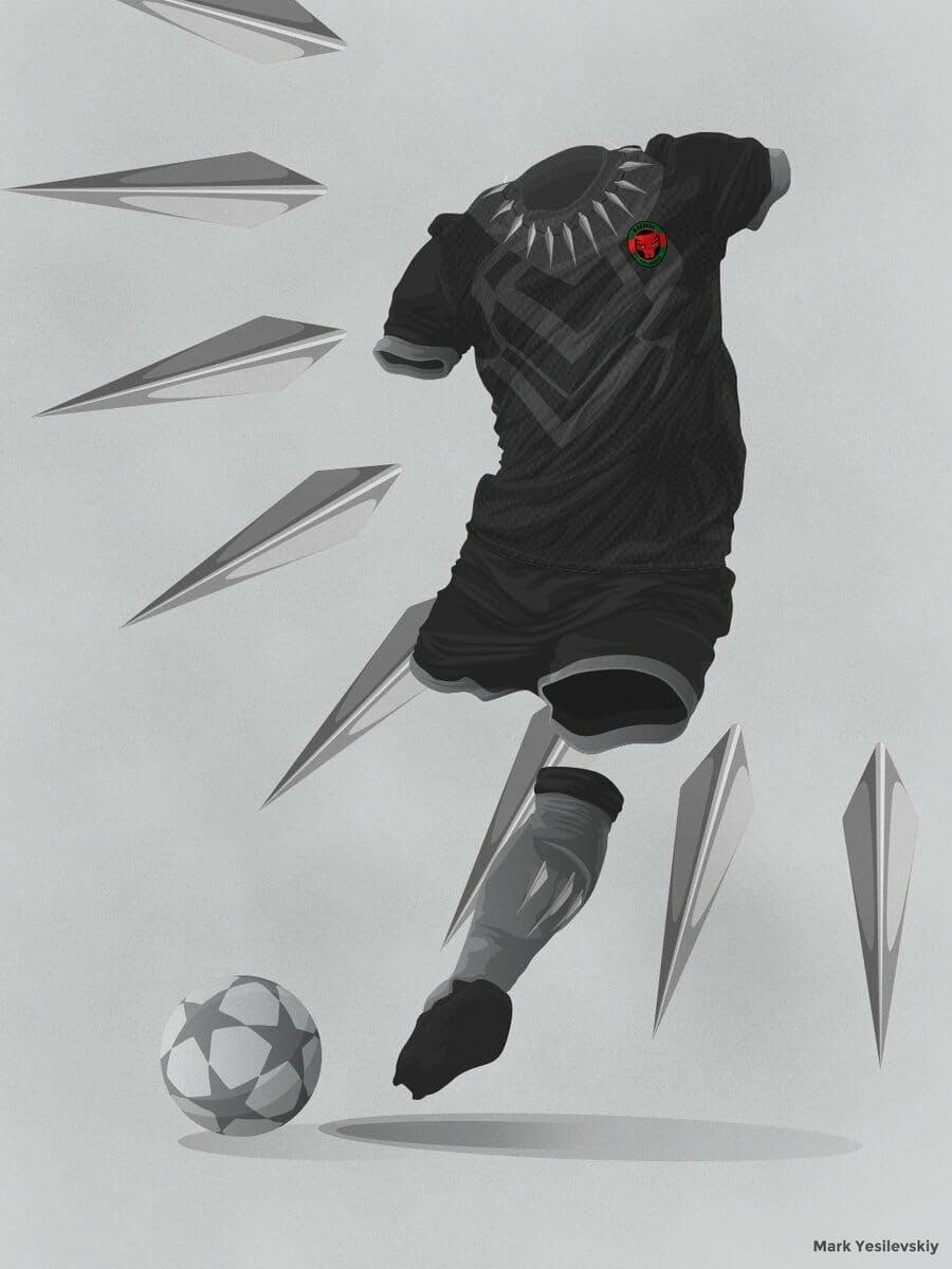 wakanda world cup kit