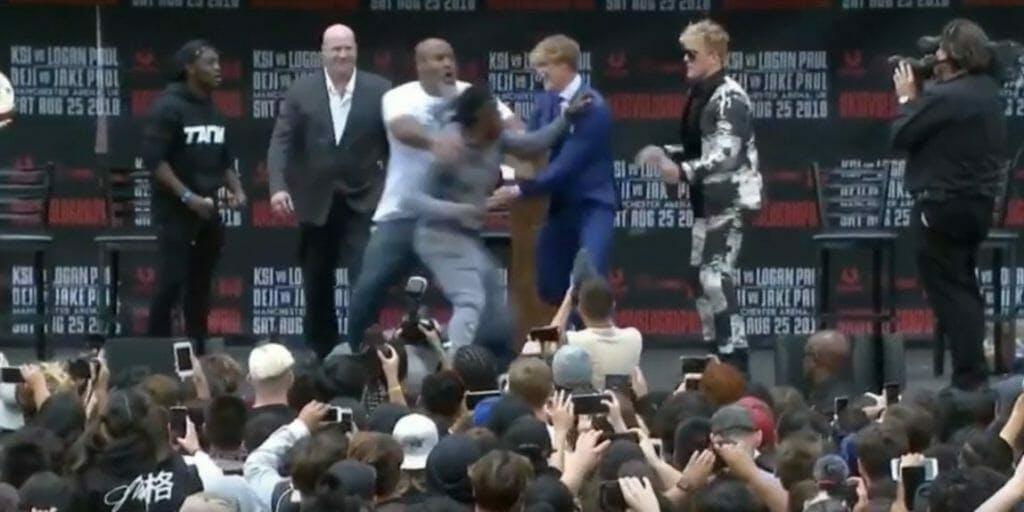 Watch KSI Logan Paul fight