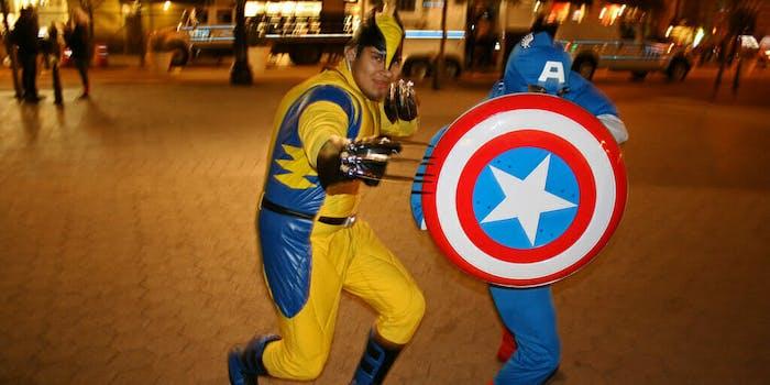 wolverine captain America marvel