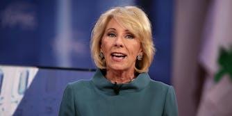 Betsy DeVos arming teachers