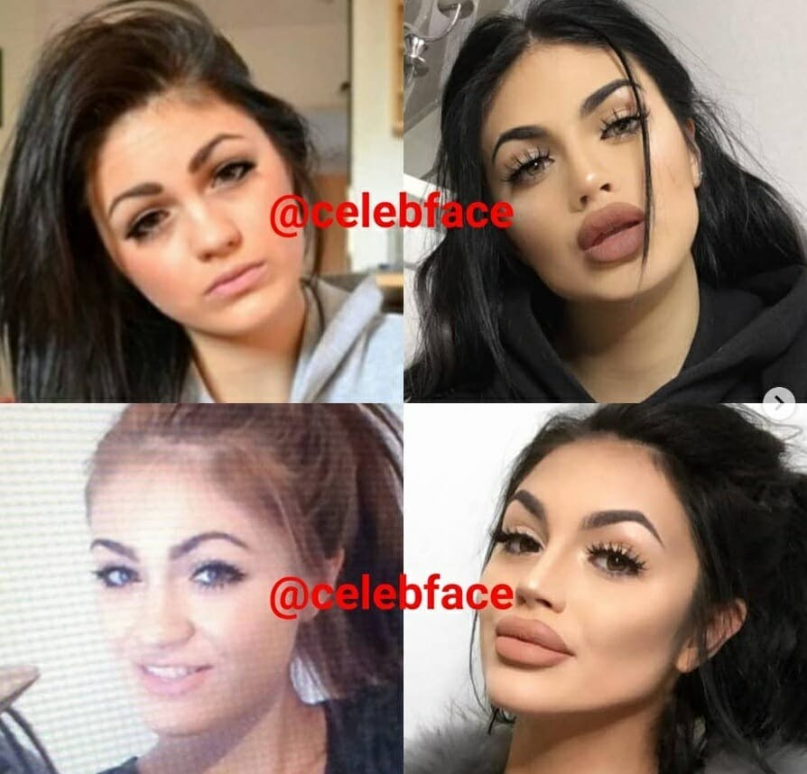 A mysterious Instagram account called Celebface is exposing celebrities' photoshopped and edited photos.